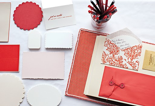 red and ivory wedding ideas
